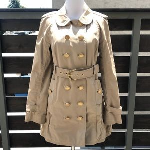 Juicy Couture Skirted Trench Coat